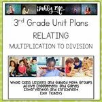 Relating Multiplication to Division 3rd Grade Math Lesson Plans 3.4K 3.5D 3.4H Math Lesson Plans, Math Lessons, Fractions, Multiplication, Problem Solving Activities, Math Activities, 3rd Grade Math Worksheets, Math Classroom, Classroom Ideas