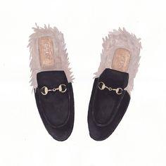 «New illustration  #gucci #fashion #illustration #fashionillustration #art #shoes #guccishoes»