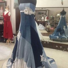 Denim Wedding Dresses | ... Wedding, Special Occasion, Western ...