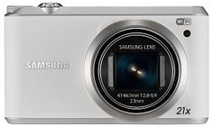 *** New, Open Box *** 1 Year Direct Manufacturer Warranty ***Samsung Megapixel Compact Camera - White - 3 Touchscreen LCD - - Optical Zoom Samsung Camera, Optical Image, System Camera, Wireless Lan, Point And Shoot Camera, Hd Movies, Hd Video, Nikon, Wifi