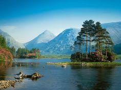 Scotland Landscape   glen etive scotland 1600x1200 highlands ben nevis range scotland ...