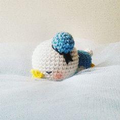 Sleepy donald // cust request  #donald #sleep #disney #amigurumi #doll #keychain #crochet #handmade #bonekarajut #souvenir #gift