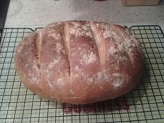 1st attempt at making bread. Used Paul Hollywood bloomer recipe.