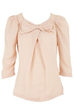 So pretty. Lovely sleeves and bow. Louche at Joy