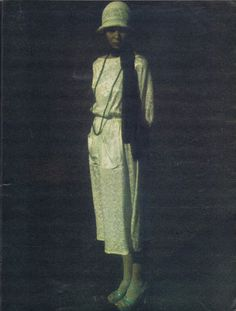 Nova magazine editorial June 1973, dress by Pablo and Delia, photo by Terence Donovan