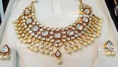 Exclusive 'polki' bridal/formal necklace with matching Studs with meenakari work and pearls.  Enquiries: 00447585522293 00447448472033 Email: kainoork@gmail.com  #sikhbride #sikhwedding #indianbride #indianbridal #indianwedding #india #walima#punjabibride #punjabiwedding#bridetobe #allthingsbridal#asianbride#desibride #abaya #hijab #desicouture #mua #vegas_nay #dressyourface #hudabeauty#bridal #bride#statement #motd #usa #desibeautyblog #kundan#mehendi#bridaljewelry