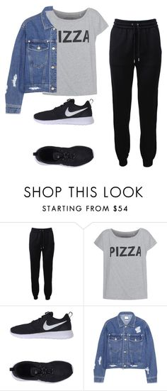 """""""RelaxingDay"""" by pinkyshade ❤ liked on Polyvore featuring Barbara Bui, NIKE, Steve J & Yoni P, cool and casualoutfit"""