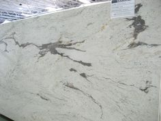 Marble alternative - white galaxy granite.