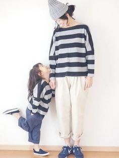 ファッションだって仲良しママと子供のための親子コーディネート