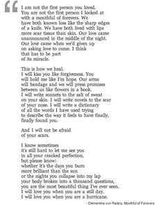 MOUTHFUL OF FOREVERS- by Clementine Von Radics I love this so much I can't even tell you!!