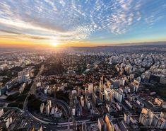 Essas 13 fotos aéreas mostram São Paulo como você nunca viu > 1. A cidade vista de cima durante o dia