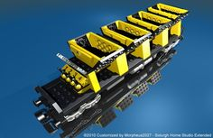 Lego 2126: Train Cars - Customized by Davide Solurghi (Morpheus)