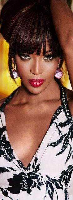 Naomi Campbell 4 Russia GQ Magazine
