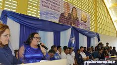 Santa Filomena Atual: Francinete Diniz (PDT) mostra estar segura para co...