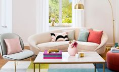 """So funktioniert der Look """""""". Lounge Areas, Floor Chair, Modern, Sweet Home, Living Room, Table, Crafts, Furniture, Home Decor"""