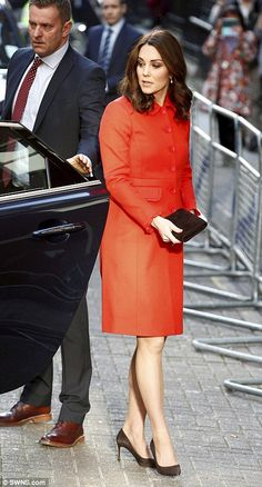 The Duchess is visiting the hospital to learn more about the work of The Mittal Children's Medical Centre
