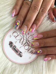 Nouveau Tattoo, Nail Art Hacks, Cute Nail Designs, Nail Spa, Cute Nails, Acrylic Nails, Manicure, Tattoos, Designed Nails
