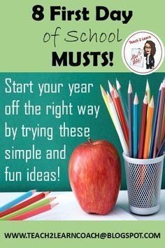 Make your year easier by rolling out your rules, routines, and procedures in an exciting way! Get to know your students starting from the first day of school by trying these eight tried and true activities!