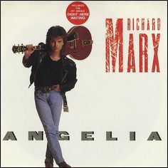 """For Sale - Richard Marx Angelia USA  7"""" vinyl single (7 inch record) - See this and 250,000 other rare & vintage vinyl records, singles, LPs & CDs at http://eil.com"""