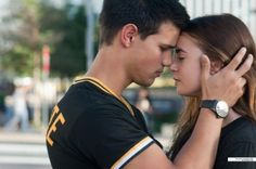 "Taylor Lautner & Lily Collins in ""Abduction"""
