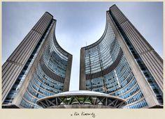 Toronto City Hall by Ken Kaminesky Photography