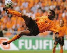 Patrick Kluivert in het Nederlands elftal
