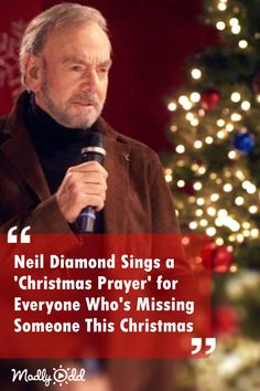 In this profoundly heartfelt number, Neil Diamond reminisces on past holiday seasons shared with loved ones who are no longer with us, while at the same time celebrating those dear ones still here today. Country Christmas Music, Christmas Lyrics, Christmas Prayer, Country Music, Christmas Tunes, Xmas, Gospel Music, Music Songs, Music Videos