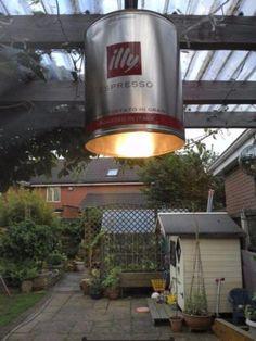 Illy lamp voor boven aanrecht
