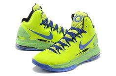 Nike Zoom KD V Neon Green/Purple [Mens Nike KD V-6014] - $65.99 : lebronxlows.net sale|LeBron X LOW|LeBron 9 Low|Lebron 8 Low and Hyperdunk low