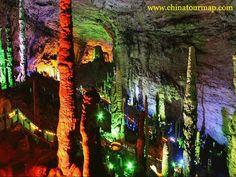 💙 Harmony of life in nature 💙  Yellow Dragon Cave, Zhangjiajie, China