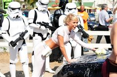 Star Wars car wash for a charity! Lets do it!
