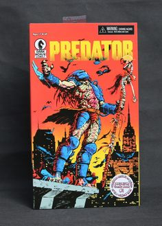 """41.99$  Watch now - http://ali3rd.worldwells.pw/go.php?t=32423577544 - """"Hot Sale Classic Sci-Fi Dark Horse Comics Book Predator Exclusive Reprint NECA 8""""""""  Action Figure Collection"""""""