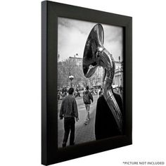 Craig Frames Contemporary Gallery Black Picture Frame
