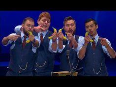 Banana Phone sung by a Barbershop Quartet Barber Shop Quartet, Barbershop, Banana Phone, Movie Tv, Singing, Videos, Music, Books, Youtube
