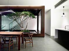 Greenbank Park house, by HYLA Architects