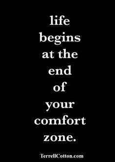 Get out of your comfort zone! Colfax marathon tomorrow!  www.terrellcotton.com
