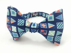 Blue Nautical Flags Bow Tie by SpeicherTieCompany on Etsy, $25.00