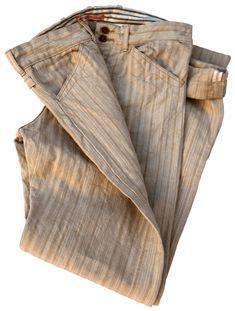 Homespun Trousers Vintage Books, Vintage Items, Weaving Textiles, Indigo Dye, Vintage Outfits, Freedom, Trousers, Hollywood, Fashion Outfits