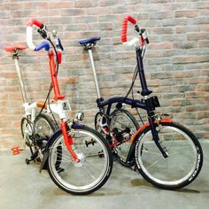 Bicicleta Brompton, Bike Accessories, Touring, Bicycles, Weights, Stretches, Contrast, Mini, Tbs