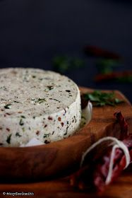 Easyfoodsmith : CHILI CILANTRO HOME MADE COTTAGE CHEESE (MASALA PANEER)