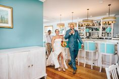 Walking in the Restaurant for the Wedding Dinner at Senhora da Guia Boutique Hotel, in Cascais #Portugal #Destinationwedding #Venue #Bride #Groom Photography by Gloria Aguiam Fotografas @Gloria Aguiam #gloriaaguiamfotografas