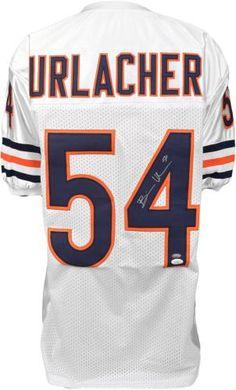 Brian Urlacher Autographed Jersey - JSA Witness - Sports Memorabilia #BrianUrlacher #ChicagoBears #SportsMemorabilia