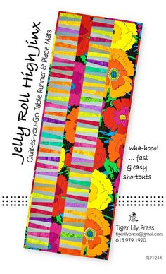 In this pattern, you'll find surprisingly easy construction techniques featuring quilt-as-you-go instructions, with fully illustrated with step-by-step illustrations. Illustrated binding instructions