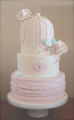 Little Bird's Cage — First Birthday Cakes