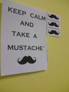 take a Mustache