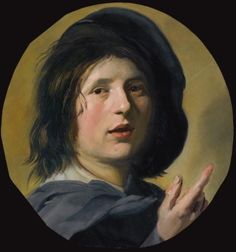 Head of a Boy with His Finger Pointing Up