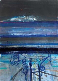 Abstract Landscape Painting, Landscape Art, Landscape Paintings, Abstract Art, Landscapes, Barbara Rae, Richmond Hill, Blue Art, Gallery