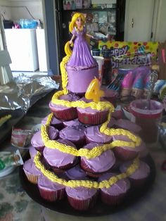 Tangled cupcakes                                                                                                                                                                                 Más
