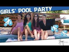 Fish Tacos and Guacamole + Girls' Pool Party | Shay's Kitchen - YouTube
