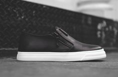 "Giuseppe Zanotti London Low Slip On ""Black"""